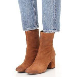 Free people Cecile block heel bootie